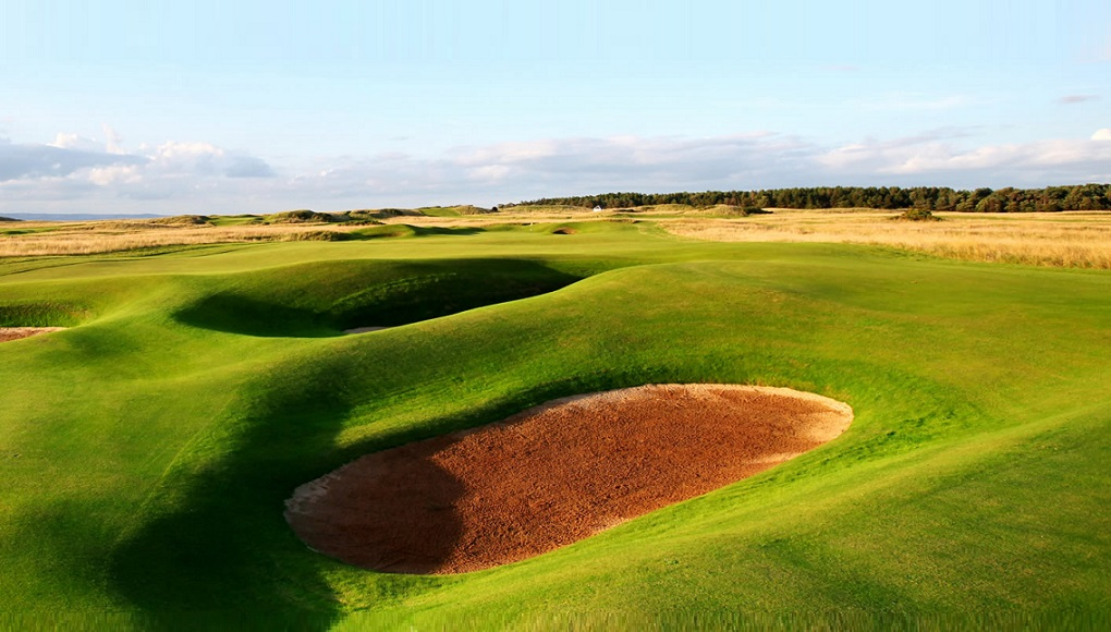 Scottish Tour in May - Luffness, Muirfield, Gullane